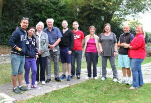 Walking talkers in Westbourne today ... 28.09.2014 ... walkingtalks ...